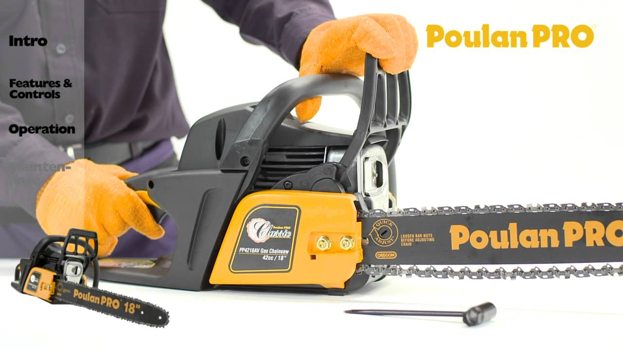Poulan pro chainsaw maintenance youtube greentooth