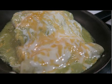 Recipe: How to Make Green Chicken Enchiladas