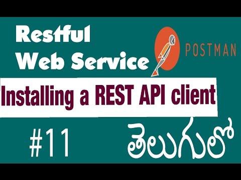 Installing a REST API client  | Restful...