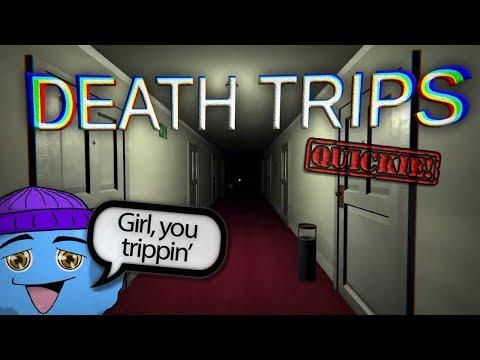 """DEATH TRIPS""   Surprising Indie Halloween Game, QUICKIE! #103"
