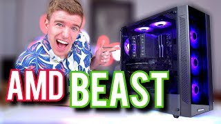 $1200 RGB Gaming/Content Creation/Streaming PC Build! [2019]
