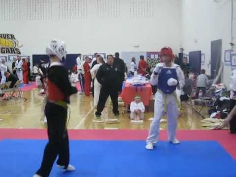 Dylan Moss Iowa games Sparring 2013