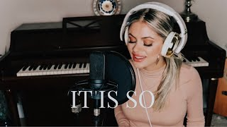 Download IT IS SO | Elevation Worship (worship cover) Mp3 and Videos