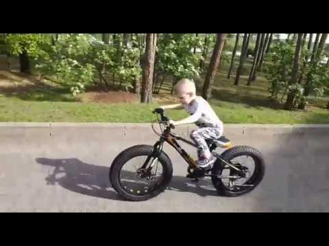 """Фэтбайк Горный велосипед """"S800 HAMMER EXTRIME"""" Колёса 20''х4,0. Алюминиевая рама ''"""