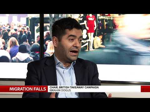 THE BRITISH TAKEAWAY CAMPAIGN ON IMPACT OF FALLING MIGRATION