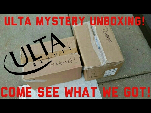 ULTA MYSTERY UNBOXING! LIVE DUMPSTER DIVE AND HAUL! OVER $1000 IN PRODUCT!!