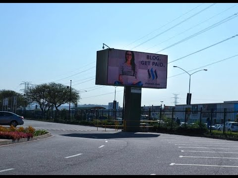 Steemdrive: First Proof of Successful Crowdfunded Billboard Flight in Durban, South Africa!