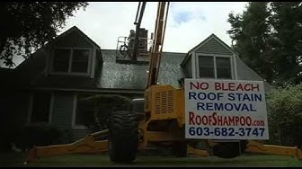 Roof Shampoo® No Bleach Roof Cleaning in New Hampshire NH