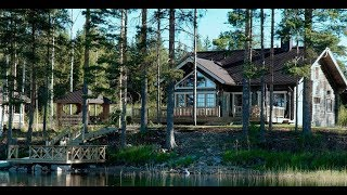 видео Дачные участки на Истринском водохранилище Московской области