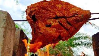 Mexican smoky grilled fish | யூடியூப் வரலாற்றில் முதல் முறையாக பிராணா கிளாத்தி மீன் சுடுதல்