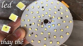 Cách sửa bóng đèn LED bằng cách thay thế chip LED, cách thay Chip LED
