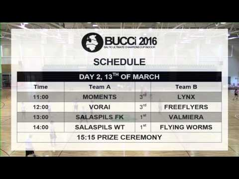 Baltic Ultimate Champions Cup indoor 2016 - Day 2 - Playoffs
