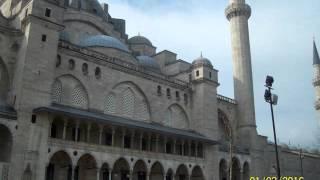 Мечеть Сулеймание и мавзолеи султана Сулеймана I(В мечети Сулейманиие и мавзолее султана Сулеймана I и его любимой жены Хюррем (Роксоланы), 2016-03-09T19:55:35.000Z)