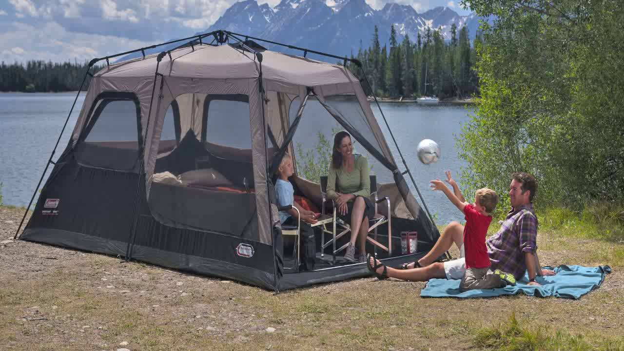 Coleman Instant Tent Rainfly Accessory & Coleman Instant Tent Rainfly Accessory - YouTube