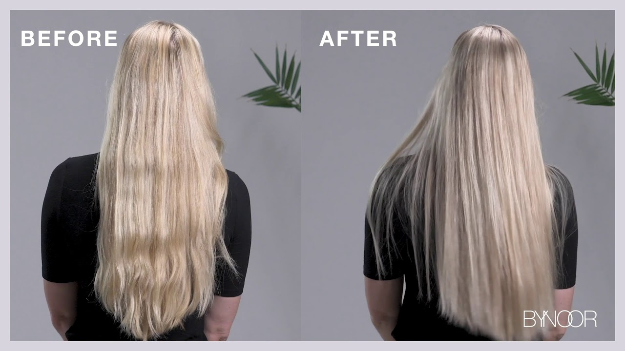 How to use the ByNoor Violet Toning Shampoo | Before & After