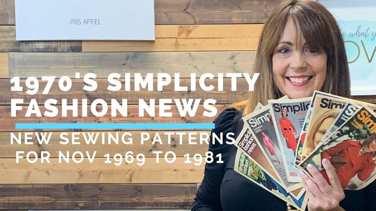 70s Sewing Fashions! A Look at November Simplicity Patterns Fashion News from 1969 to 1981