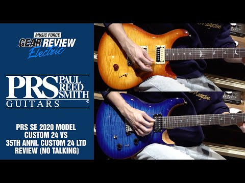 PRS SE 2020 Model Custom 24 VS 35th Anniversary Custom 24 LTD Review (No Talking)