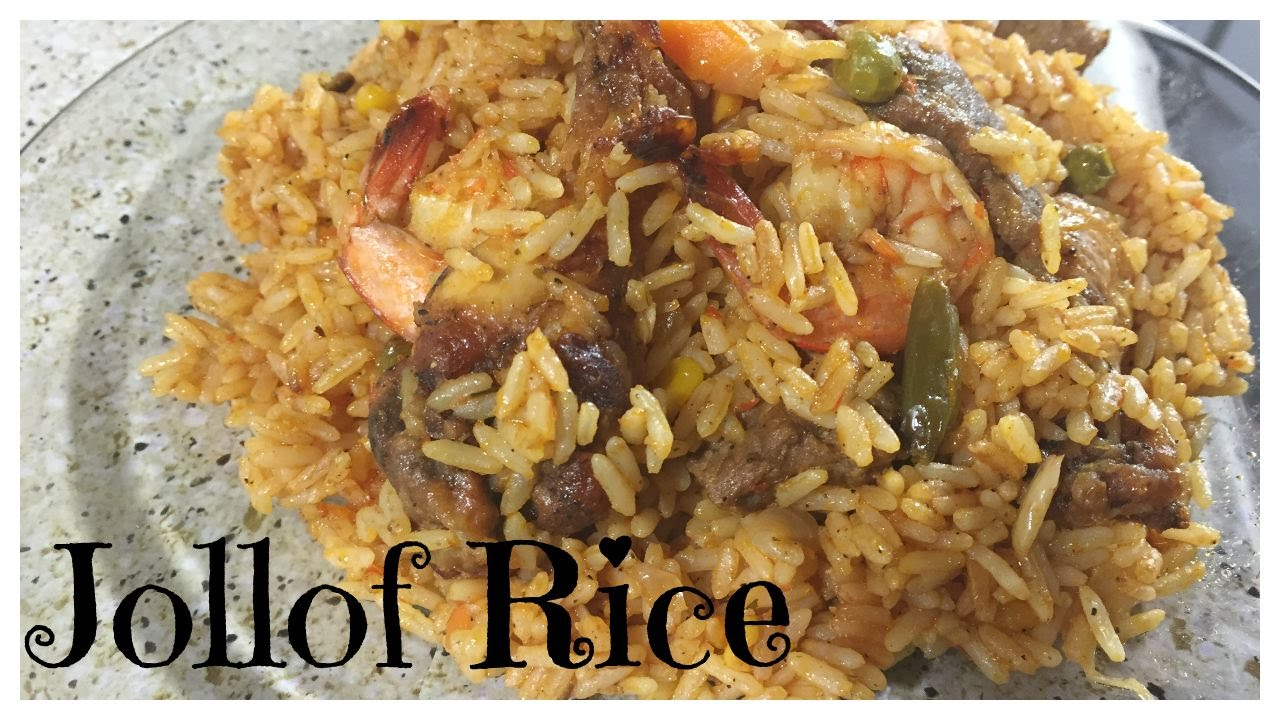How to make the best liberian jollof rice youtube how to make the best liberian jollof rice ccuart Gallery