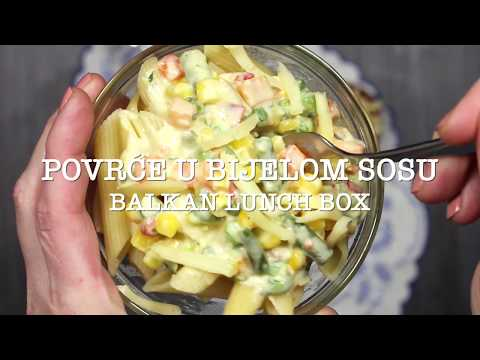 Kremasti bijeli sos sa povrćem (Veggies in White Sauce BF