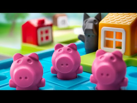 SmartGames - How To Play Three Little Piggies Deluxe
