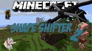Minecraft Shape Shifter Z Mod 1.4.7 German-Sei alles in Minecraft was du willst :)