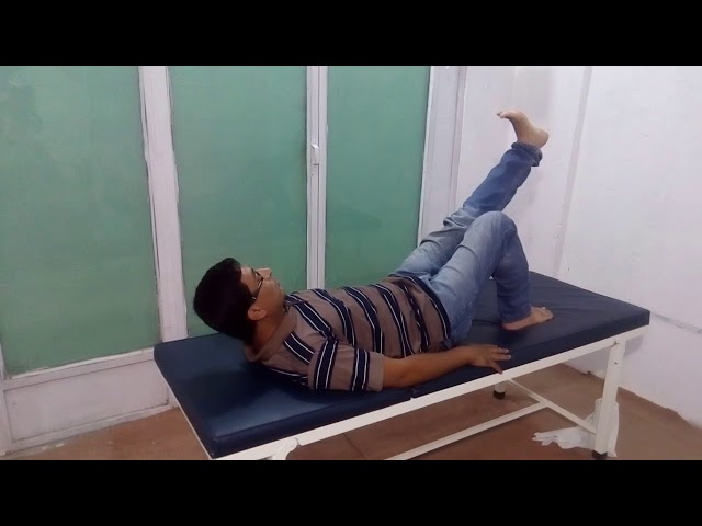 CPT knee pain exercise 2 by Chiropractor Aamir Shahzad