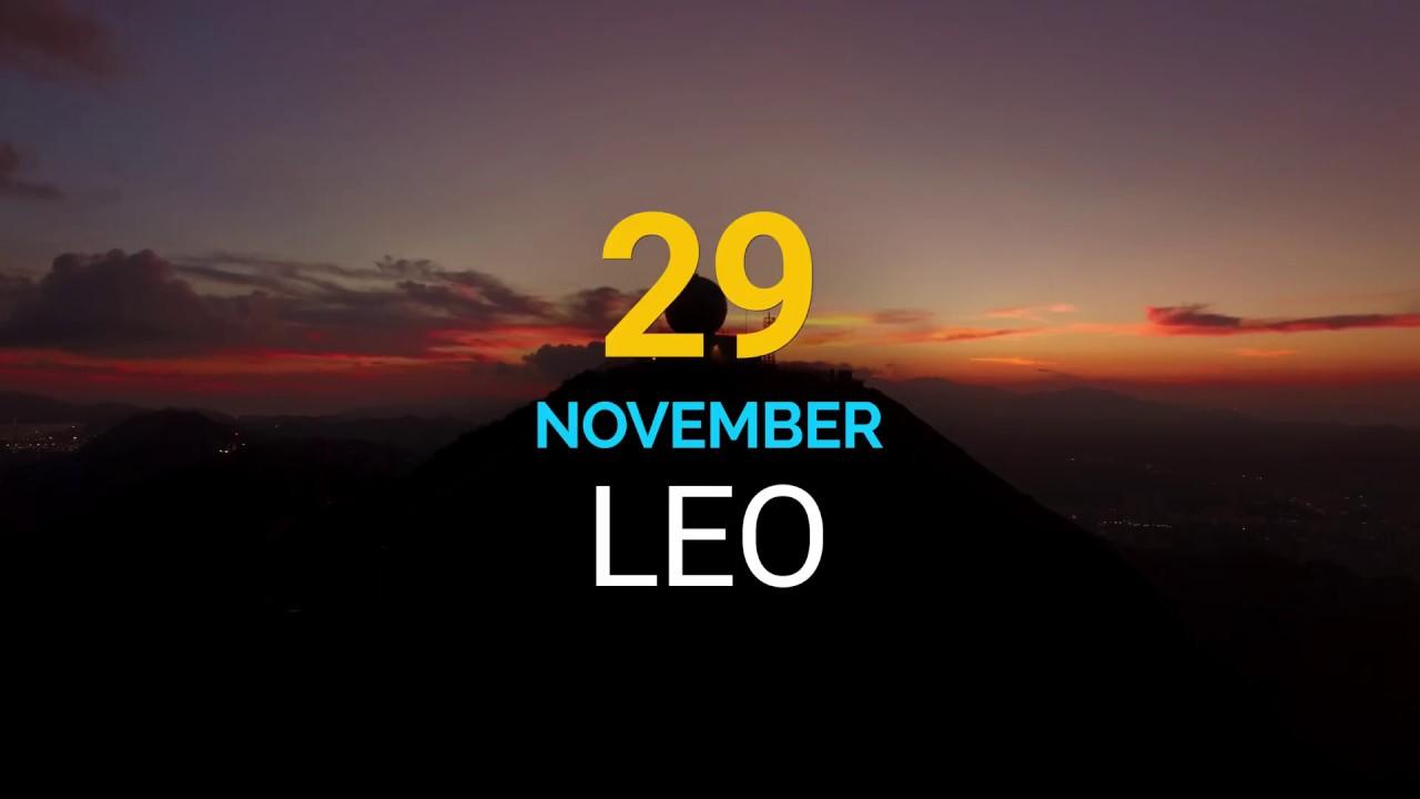 29 november horoscope leo or leo