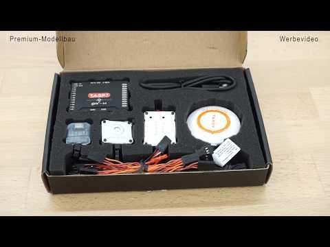 Tarot ZYX-M Multicopter Flightcontroller Mit GPS -  Unboxing Und Kurzvorstellung  (DEUTSCH)