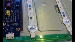 Grundig 40 VLE 4322 BF Repair / Ремонт LED TV Grundig 40VLE4322BF
