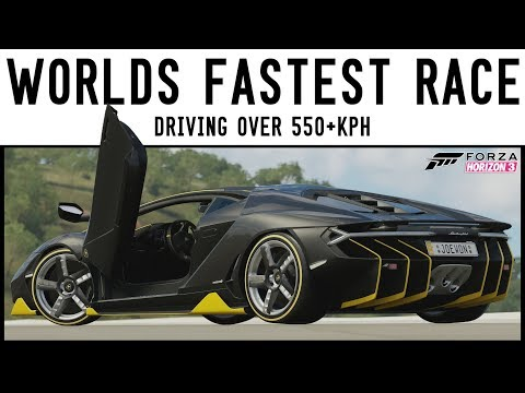THE WORLDS FASTEST RACE!! - 5000HP Lamborghini Centenario - Forza Horizon 3
