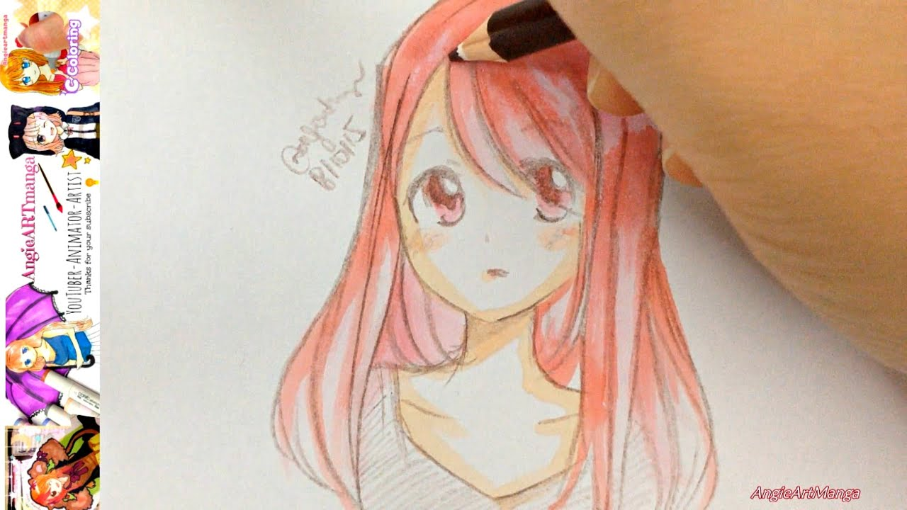 March 3 Anime Characters : Drawing manga characters in mins youtube