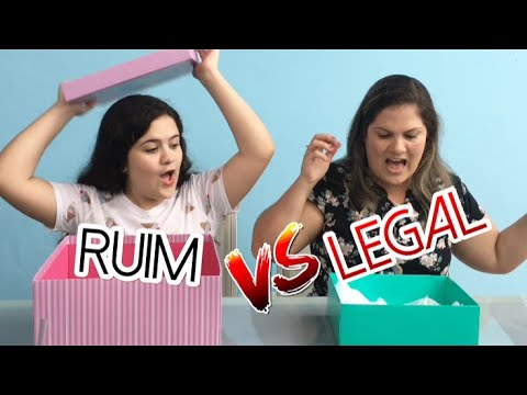 PRESENTE CHALLANGE  RUIM Vs LEGAL