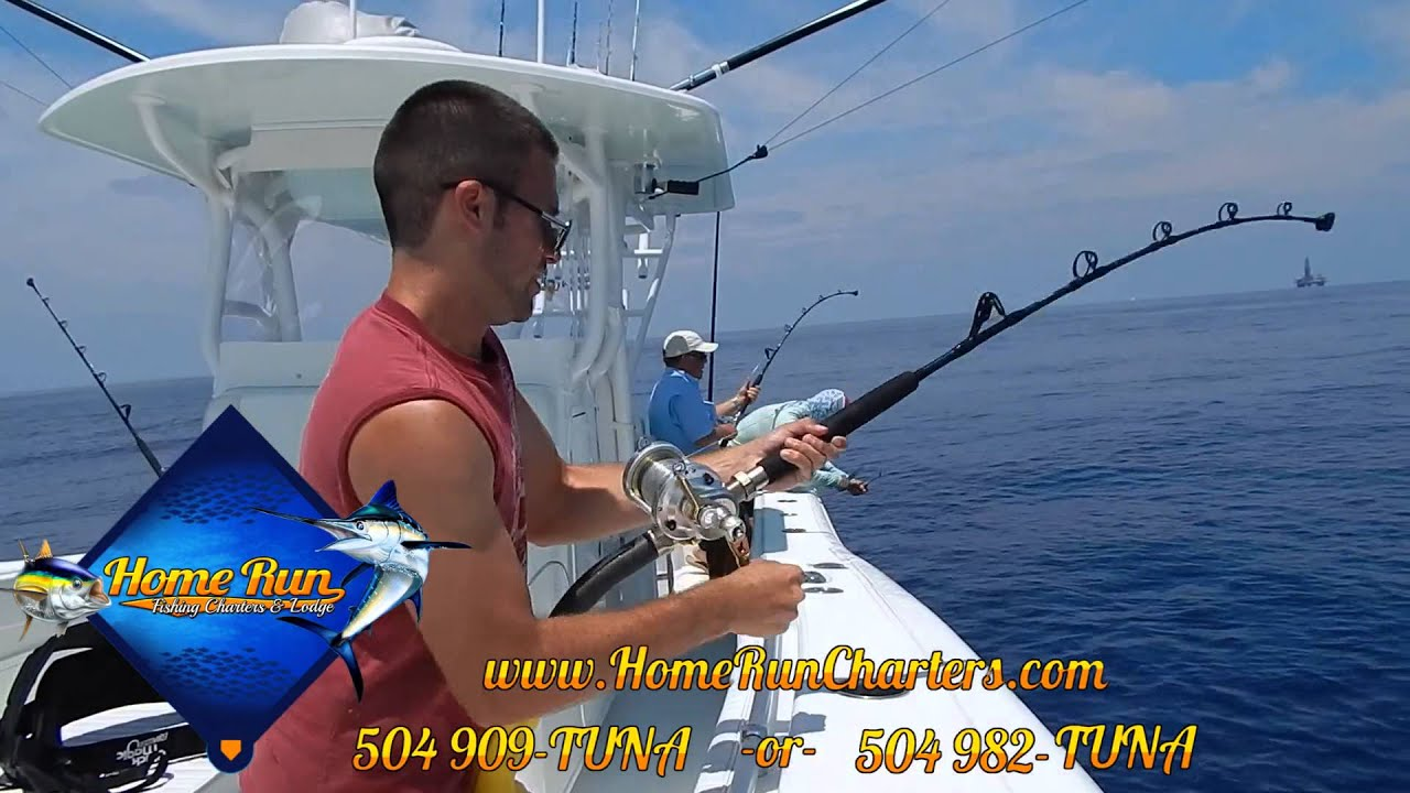 Venice louisiana offshore fishing charters home run for La fishing charters