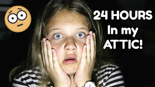 24 Hours In The Attic! 24 Hours With No Lol Dolls