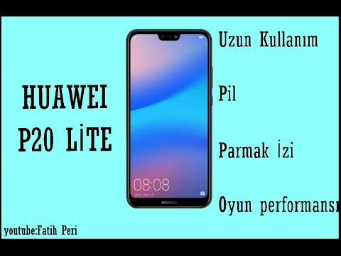 Huawei  P20 Lite - Kamera / Pil / Parmak İzi / Oyun Performansı Testi