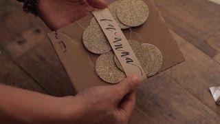 Paper Garland - DIY - www.BohoBabyBump.com