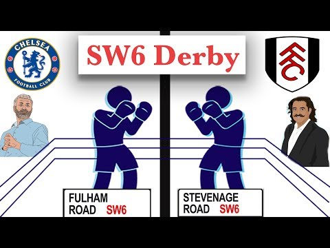 Chelsea V Fulham   SW6 London Derby Preview   England Football Derbies