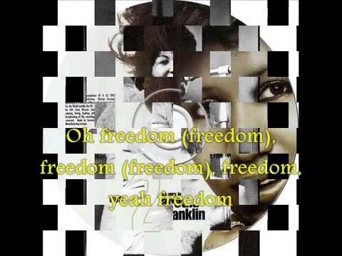 Aretha Franklin THINK + Lyrics on Screen