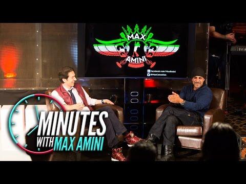 Minutes with Max Amini: Anthony Azizi FARSI  مصاحبه مکس امینی با انتونی عزیزی