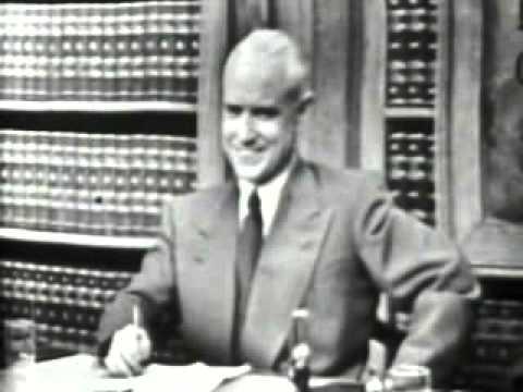 LONGINES CHRONOSCOPE WITH HENRY H. FOWLER