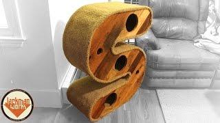 """Sarah's """"s"""" Cat House - Jackman Carpentry"""