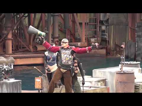 Universal Studios   Waterworld Stunt-Show