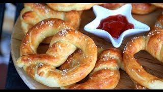 Homemade Soft Pretzels - Easy Soft Pretzels Recipe - Heghineh.com