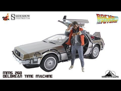 Hot Toys Back to the Future DeLorean Time Machine Video Review