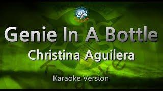 Christina Aguilera-Genie In A Bottle (Melody) (Karaoke Version) [ZZang KARAOKE]