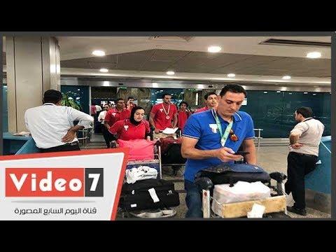 وزير الرياضة يستقبل بعثة الألعاب الأفريقية فى المطار  - نشر قبل 2 ساعة