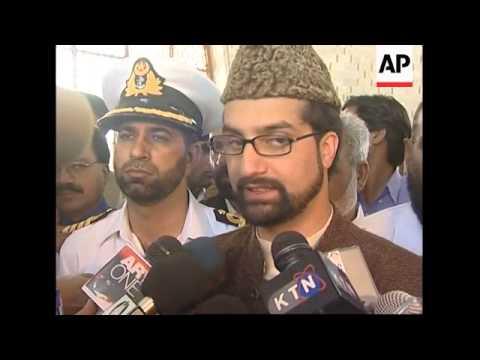 Kashmiri separatist leaders visit Jinnah's tomb