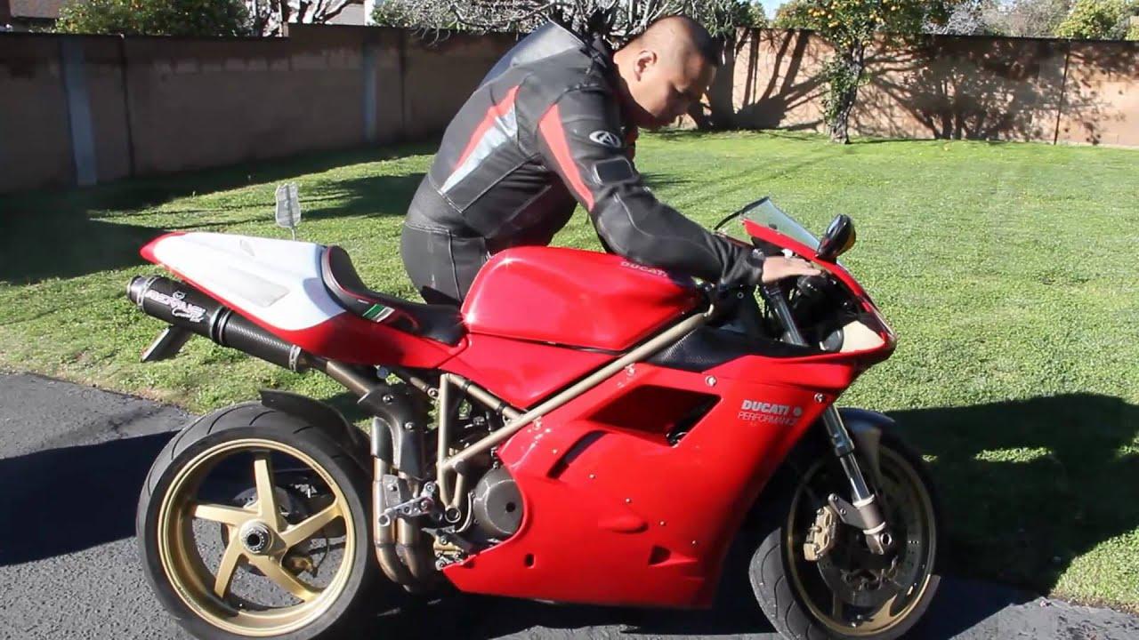Ducati Superbike  Bmw Naked Bike Walk Around And Start-Up -8013