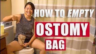How To Empty Ostomy Bag