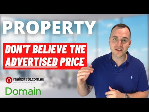 PROPERTY PRICES! Why you shouldn't believe the ADVERTISED Price!